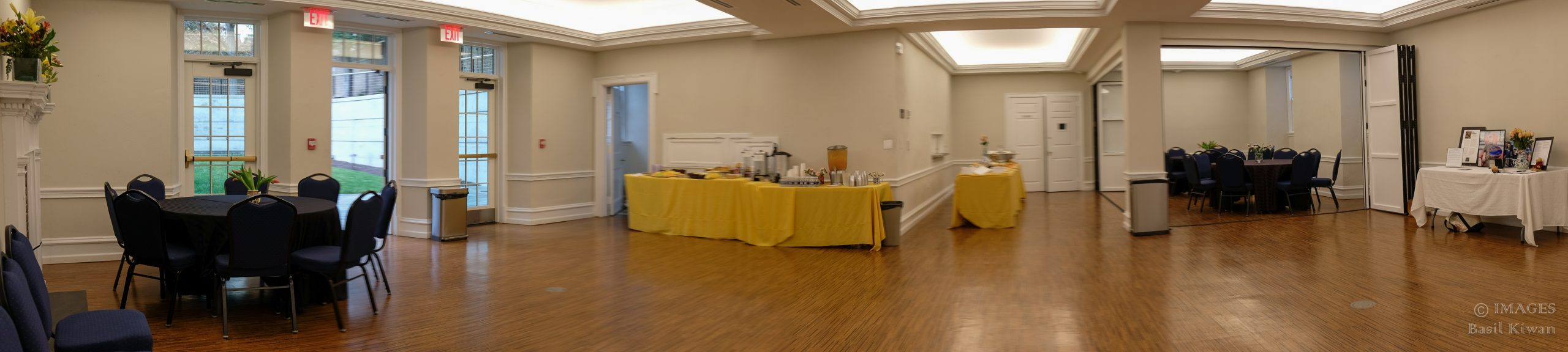 Panoramic shot of the Assembly Room