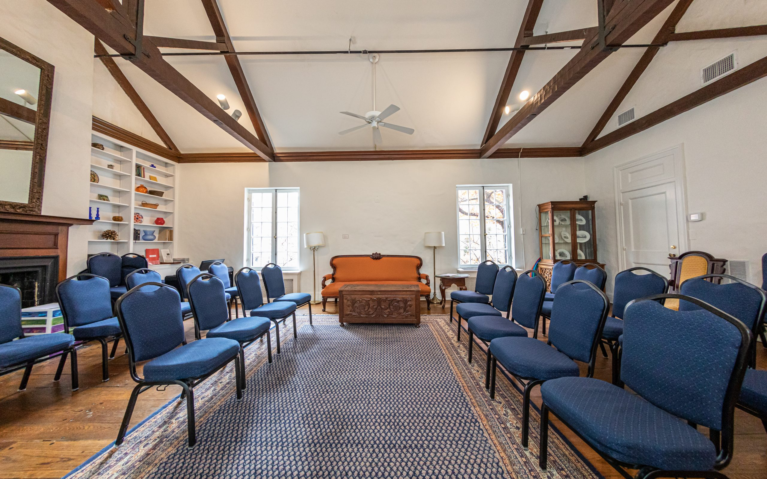 Overview of the Quaker House Living Room